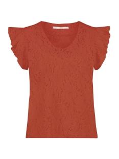 Aaiko T-shirt DENO LEAFS CO 514 BRICK