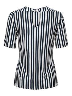 jdymelanie s/s top jrs 15198430 jacqueline de yong t-shirt cloud dancer/sky captain