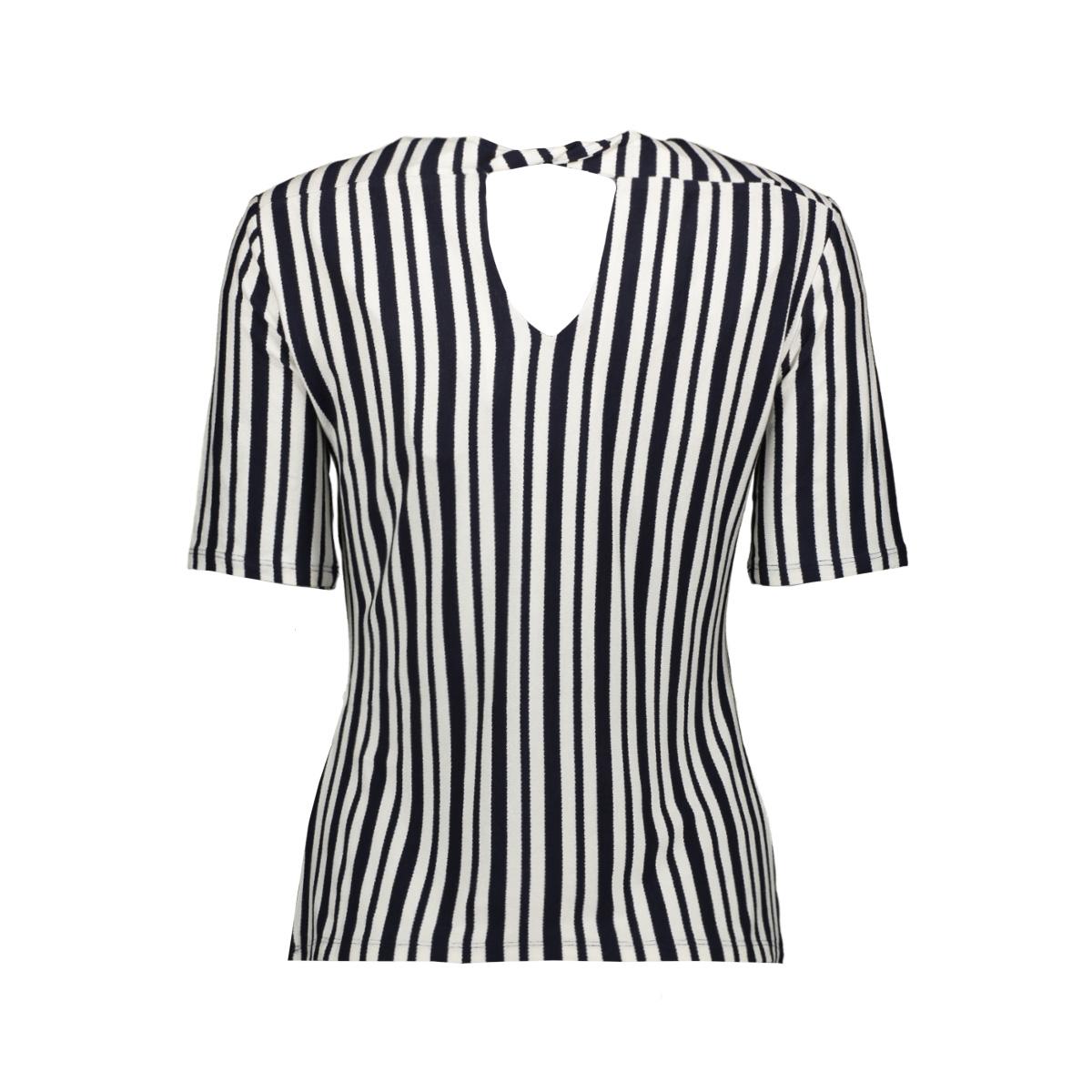 jdymelanie s/s top jrs 15198430 jacqueline de yong t-shirt sky captain/cloud dancer
