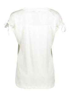 top v neck birds s s 03106 geisha t-shirt white
