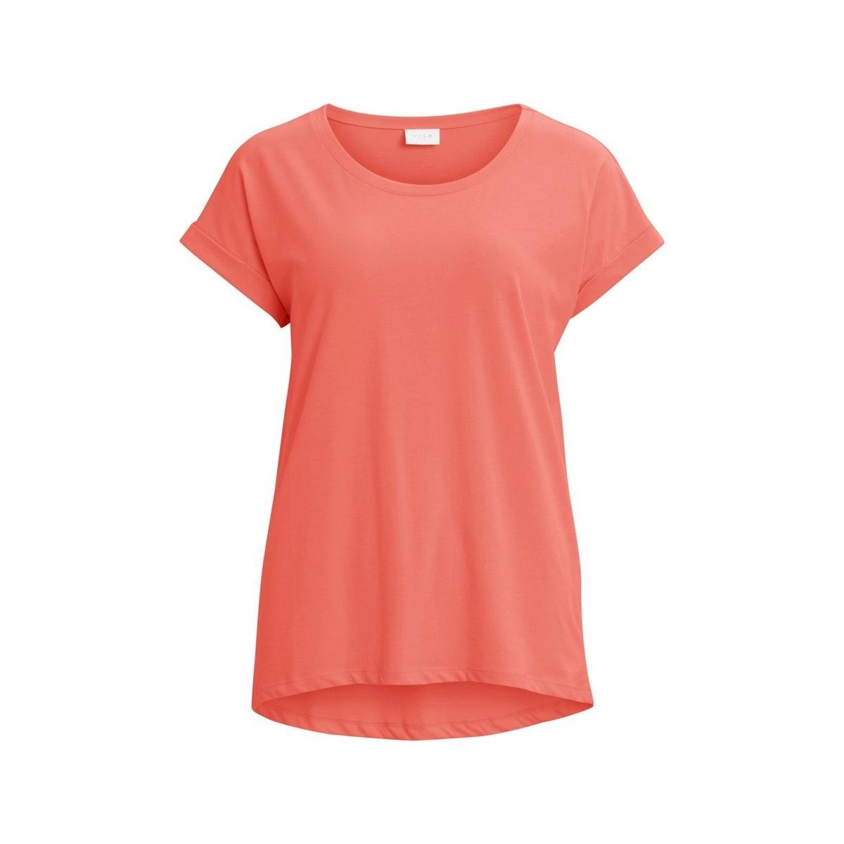 vidreamers pure t-shirt-noos 14025668 vila t-shirt dusty cedar