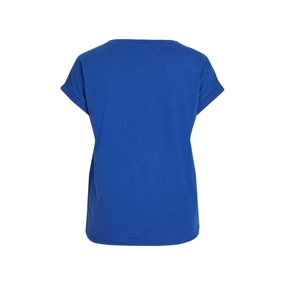 vidreamers pure t-shirt-noos 14025668 vila t-shirt mazarine blue
