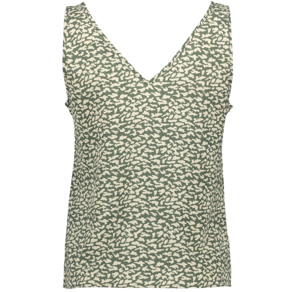 vmsasha sl button top color 10228474 vero moda top laurel wreath/kira