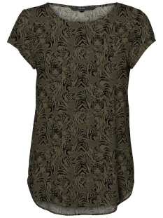 Vero Moda T-shirt VMBOCA SS BLOUSE MULTI AOP 10132802 Ivy Green/KATE