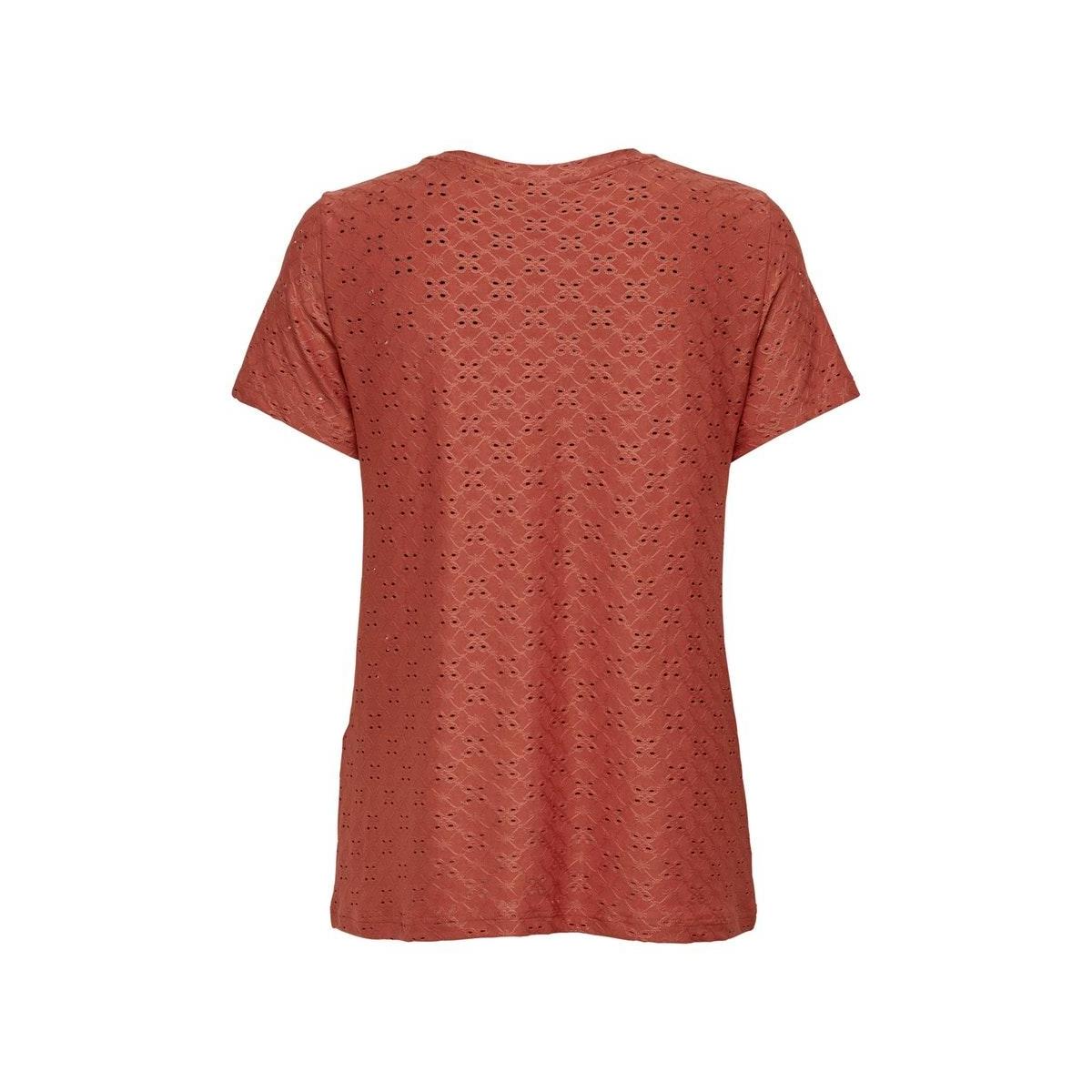 jdycathinka s/s tag top jrs noos 15158450 jacqueline de yong t-shirt hot sauce