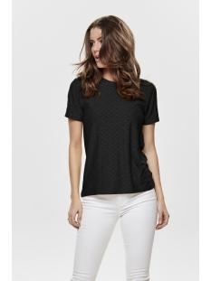 Jacqueline de Yong T-shirt JDYCATHINKA S/S TAG TOP JRS NOOS 15158450 Black