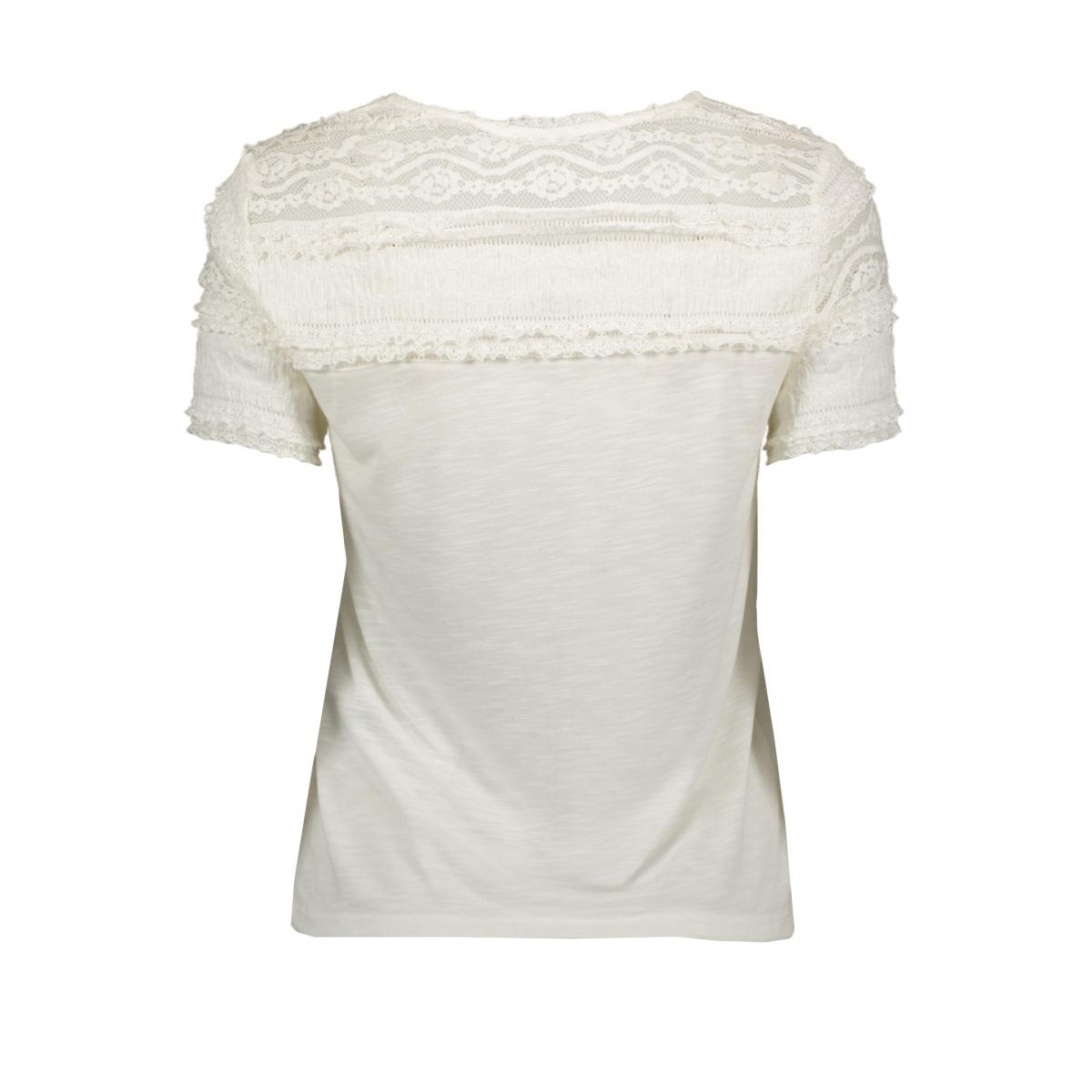 onlmarjorie s/s mix top jrs 15202090 only t-shirt cloud dancer