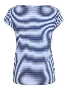 viscoop top - fav 14055569 vila t-shirt mazarine blue/white stripes