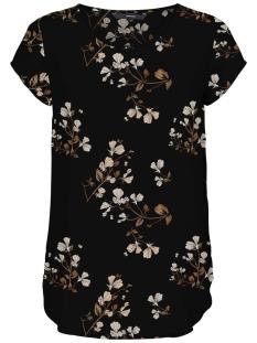 Vero Moda T-shirt VMBOCA SS BLOUSE MULTI AOP 10132802 Black/HALLIE