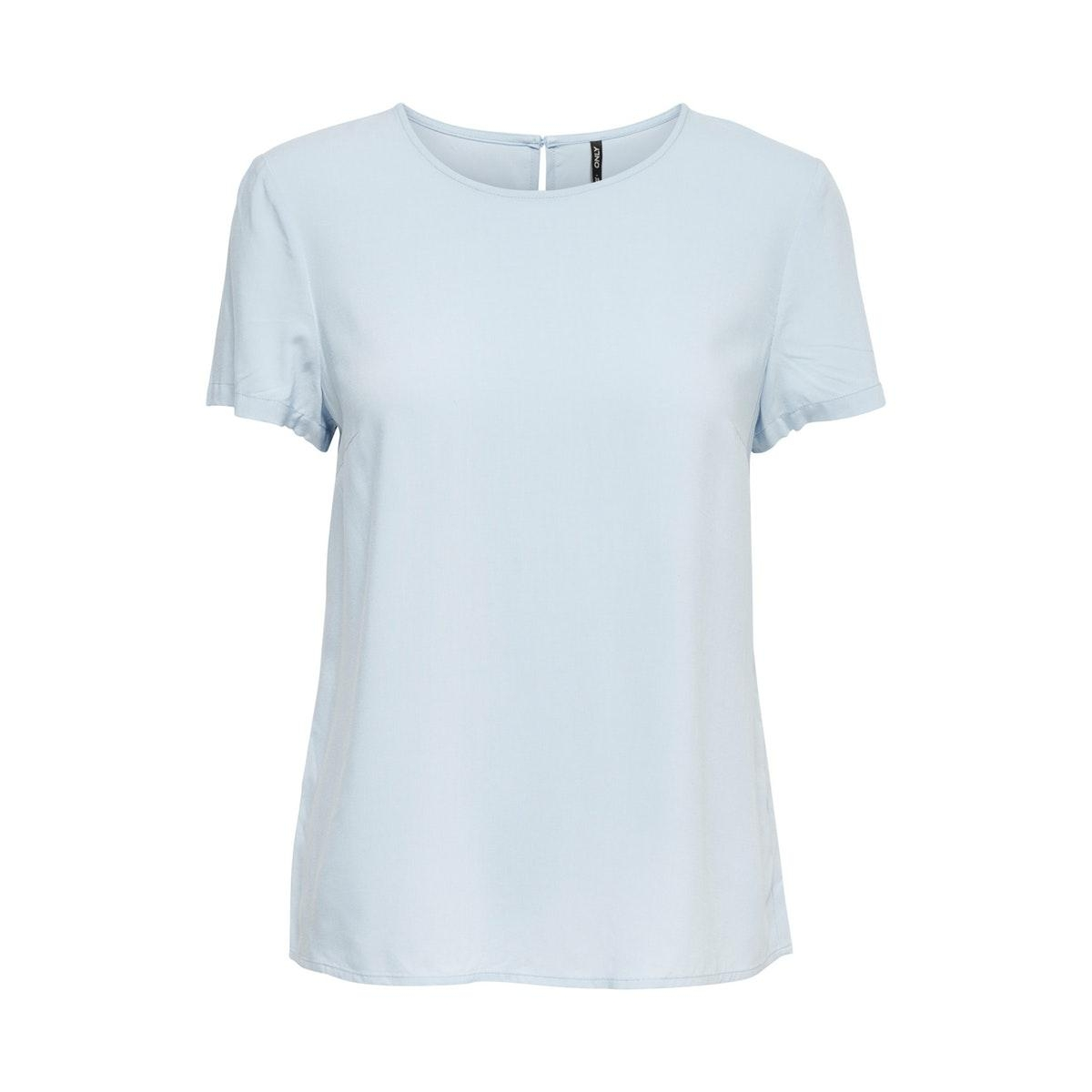 onlfirst one life ss solid top noos 15197495 only t-shirt cashmere blue