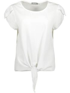 Geisha T-shirt TOP WITH DOT 03289 70 WHITE