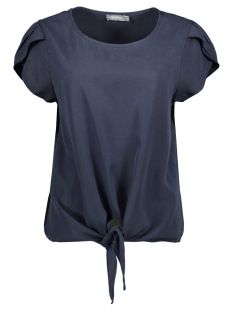 Geisha T-shirt TOP WITH DOT 03289 70 NAVY