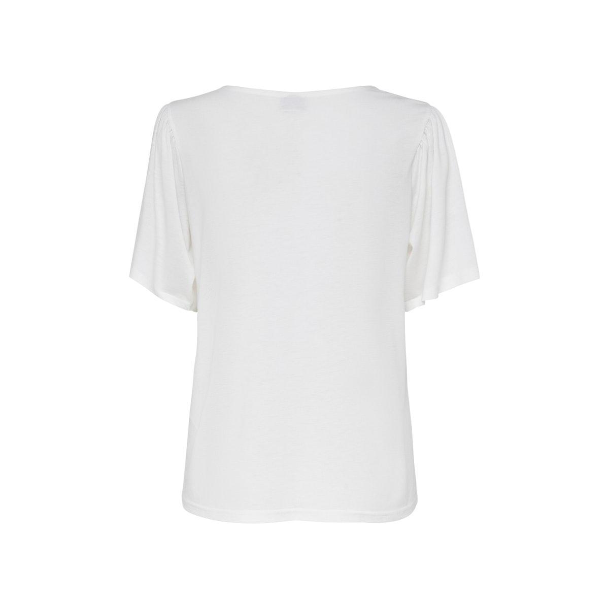 jdyelena s/s top jrs 15196517 jacqueline de yong t-shirt cloud dancer/dtm lace
