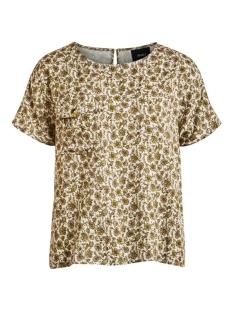 Object T-shirt OBJKALILA S/S URBAN TOP 108 DIV 23032531 Gardenia/KALILA FLO