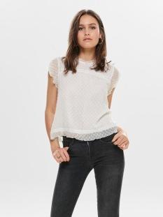 onlflora capsl top wvn noos 15191610 only t-shirt cloud dancer