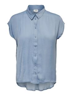 jdysheela s/s shirt wvn 15196788 jacqueline de yong blouse faded denim