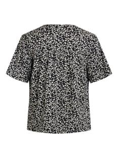 objmerve s/s top  a repeat 23034663 object t-shirt black/small flower