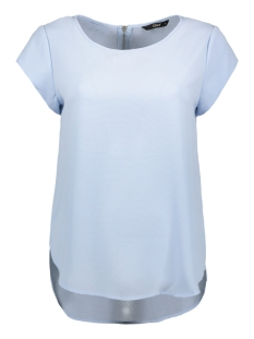 Only T-shirt ONLVIC S/S SOLID TOP NOOS WVN 15142784 Cashmere Blue