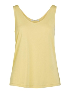 Pieces Top PCKAMALA TANK TOP NOOS 17100687 Lemon Drop