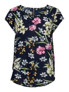Only T-shirt ONLVIC SS AOP TOP NOOS WVN 15161116 Night Sky/BRIGHT FLOWERS