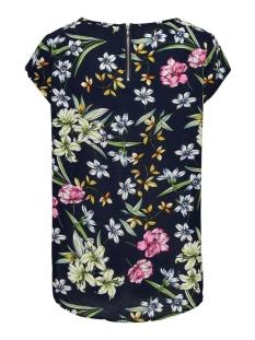 onlvic ss aop top noos wvn 15161116 only t-shirt night sky/bright flowers