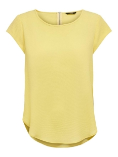 Only T-shirt ONLVIC S/S SOLID TOP NOOS WVN 15142784 Pineapple Slice
