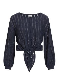 Vila T-shirt VIPILINE L/S T-SHIRT/3 14058309 Navy Blazer