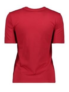 jdynatalie life s/s print top denim 15196545 jacqueline de yong t-shirt scarlet/collage