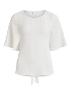 Vila T-shirt VILAIA 2/4 SLEEVE TOP/L 14059183 CLOUD DANCER