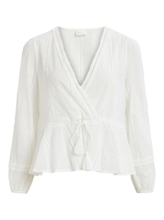 Vila Blouse VIDAGGER L/S TOP 14060425 Cloud Dancer