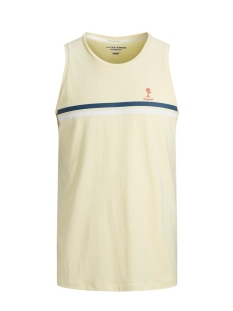 Jack & Jones T-shirt JORVENICE TANK TOP 12172040 FLAN