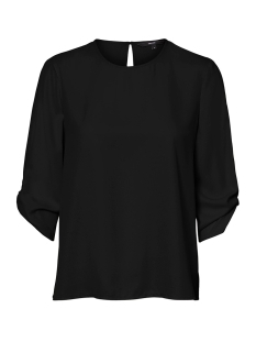 Vero Moda Blouse VMGLAZE 3/4 TOP WVN 10225848 BLACK