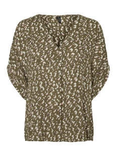 Vero Moda T-shirt VMAMSTERDAM S/S TOP EXP 10218212 Ivy Green/KLAUDIA