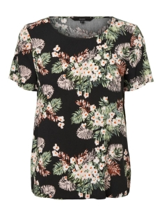 Vero Moda T-shirt VMSIMPLY EASY SS TOP WVN GA 10227822 BLACK