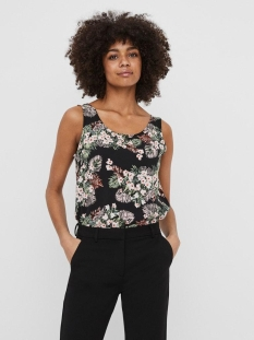 Vero Moda Top VMSIMPLY EASY SL TANK TOP WVN GA 10227823 BLACK