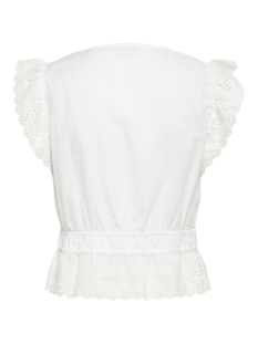 jdysevilla s/s top wvn 15203032 jacqueline de yong top cloud dancer
