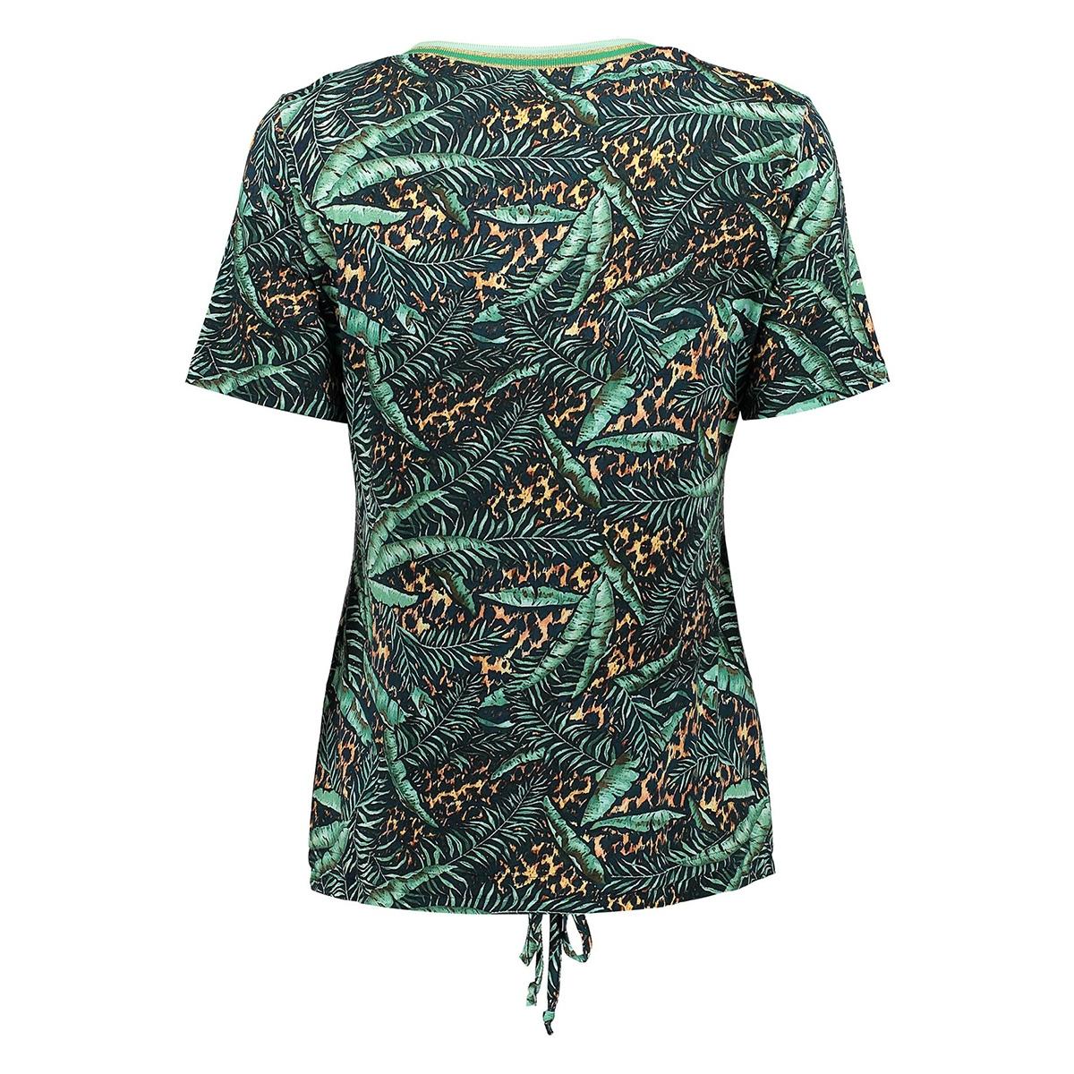 top aop with tape at neck ss 03210 20 geisha t-shirt 000510 mintcombi