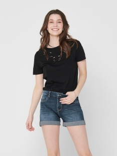 onltheresa life s/s top jrs 15204300 only t-shirt black