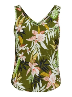 Only Top ONLLIZBETH SINGLET WVN 15201244 Kalamata/JUNGLE FLOW