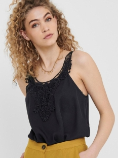 Only Top ONLBEVERLY S/L TOP WVN 15205690 Black