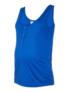 Mama-Licious Positie shirt MLNELIA LIA S/L JERSEY TANK TOP 2F. 20011282 Mazarine Blue