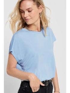 Only T-shirt ONLFREE LIFE S/S O-NECK TOP NOOS JR 15199102 Cashmere Blue