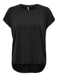 Only T-shirt ONLFREE LIFE S/S O-NECK TOP NOOS JR 15199102 BLACK