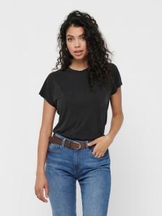 onlfree life s/s o-neck top noos jr 15199102 only t-shirt black