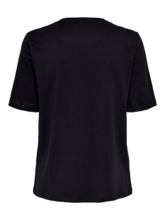 onlkita life boxy s/s world top box 15199873 only t-shirt black/explore