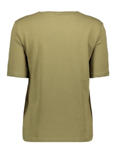 onlkita life boxy s/s world top box 15199873 only t-shirt martini olive/travel