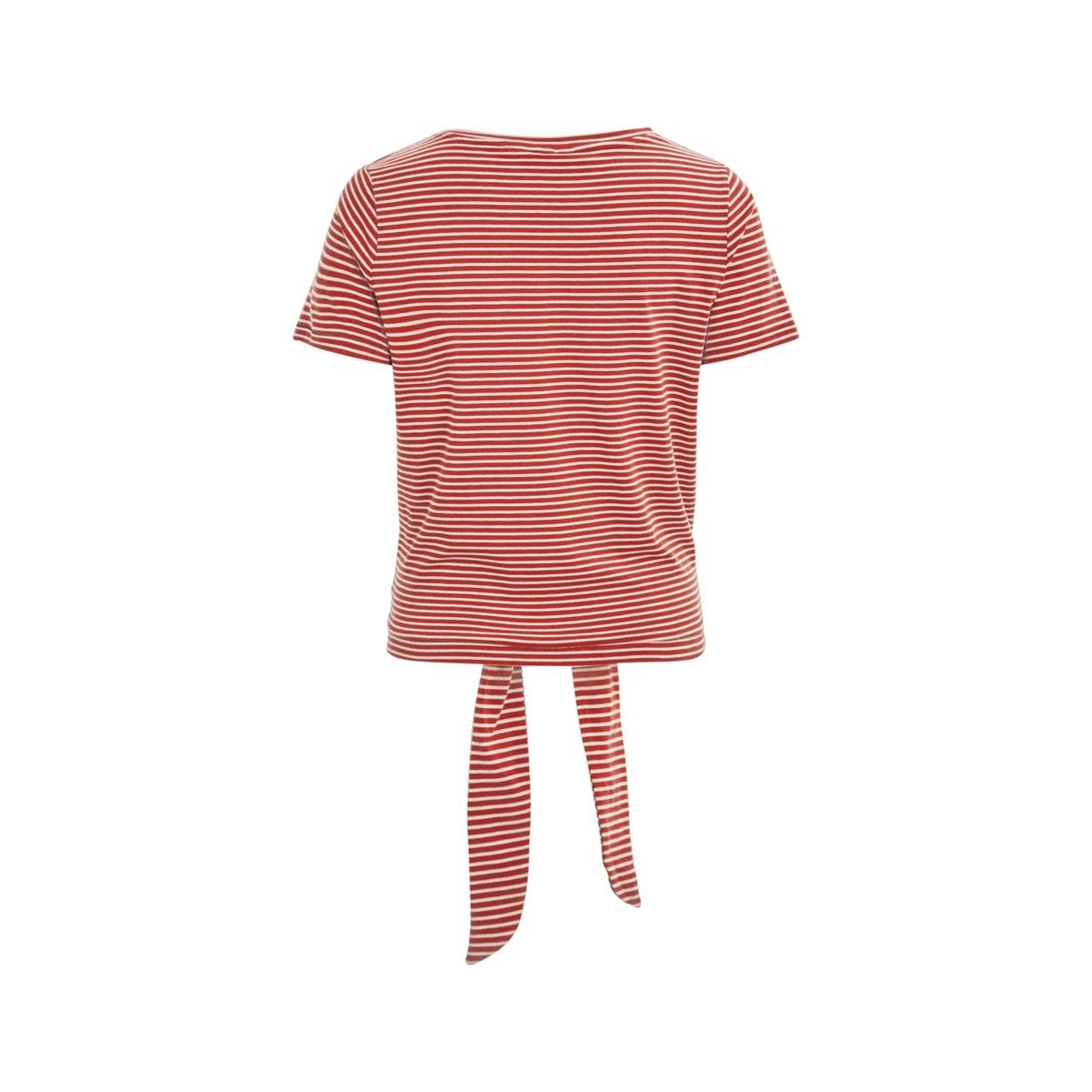 objstephanie maxwell s/s top season 23029400 object t-shirt tandori spice/white