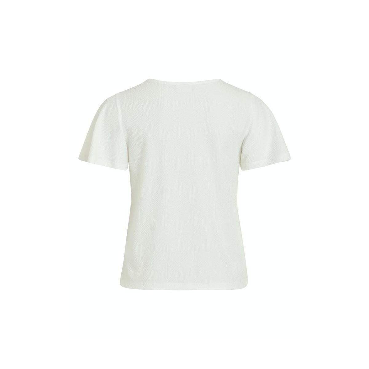 vimoana s/s top 14057403 vila t-shirt cloud dancer