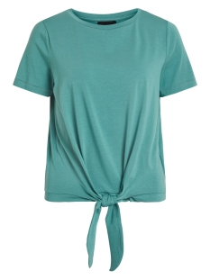 Object T-shirt OBJSTEPHANIE MAXWELL S/S TOP NOOS 23029269 Blue Spruce