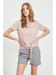 Object T-shirt OBJSTEPHANIE MAXWELL S/S TOP NOOS 23029269 Adobe Rose